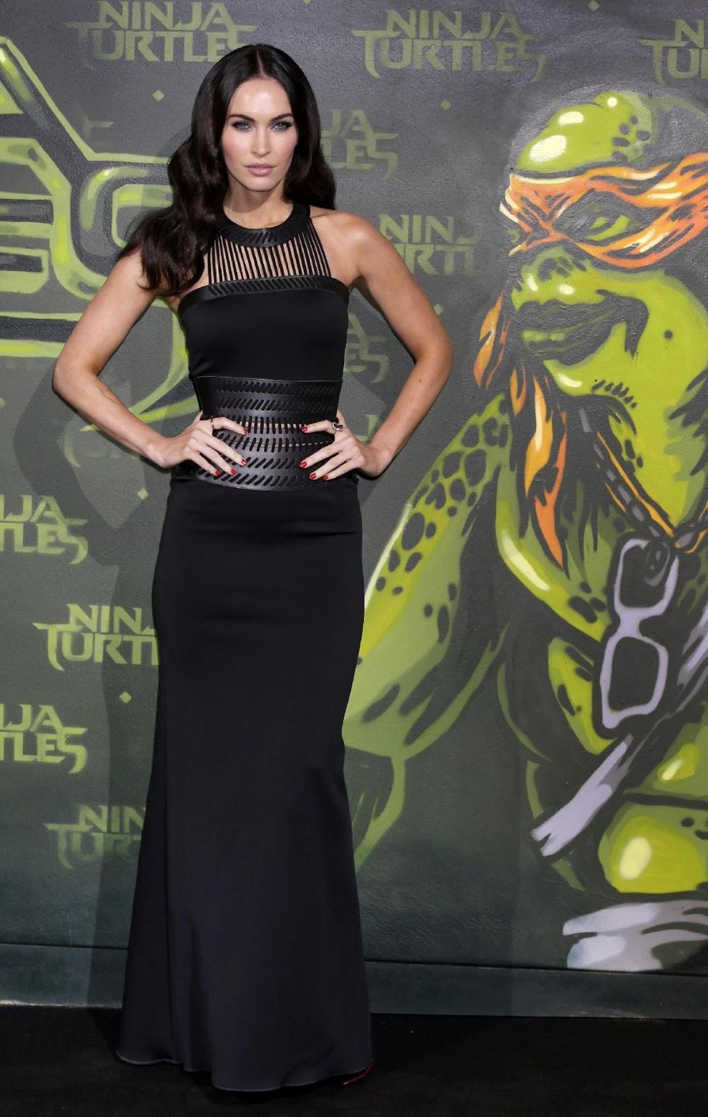 Megan Fox at Teenage Mutant Ninja Turtle Berlin Premiere