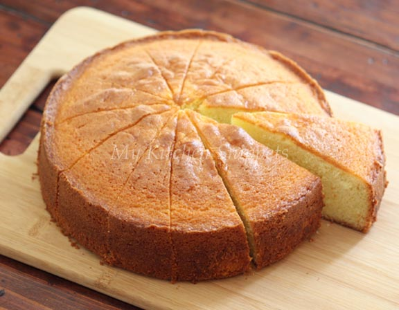My Kitchen Snippets: Orange Butter Cake