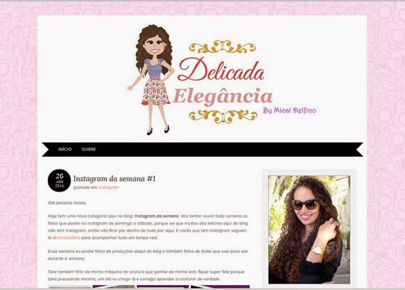 Blog Delicada Elegância