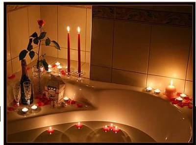kamar romantis