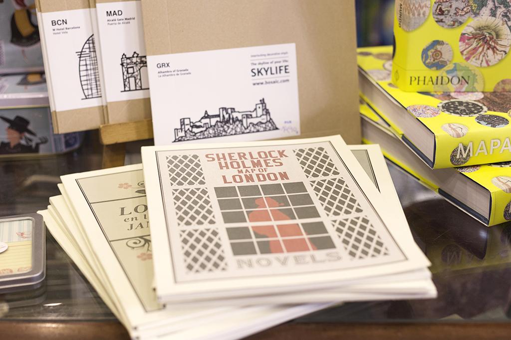 Librería Mapas y Compañía Málaga