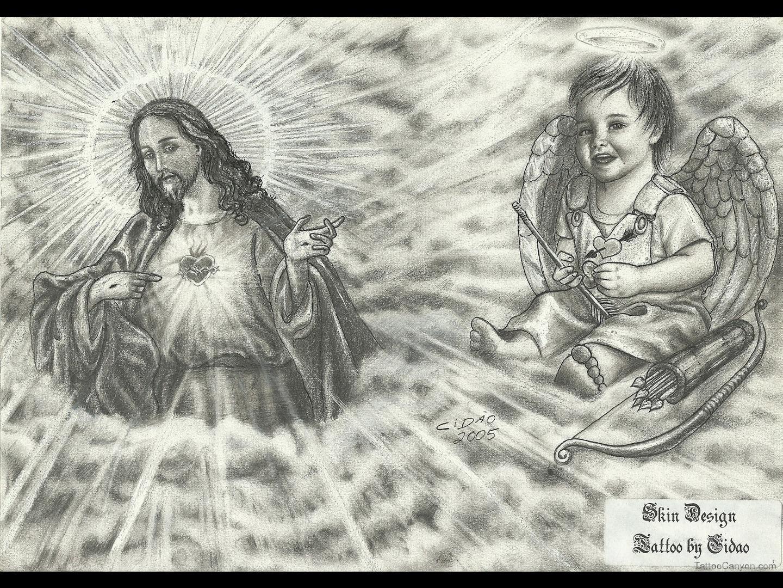 Preferência Desenhos Tatuagens Jesus Cristo | Leles Tattoo VH27