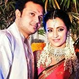 Trisha Engagement With Varun Manian,Unseen HD Engagemnet Pictures,Videos
