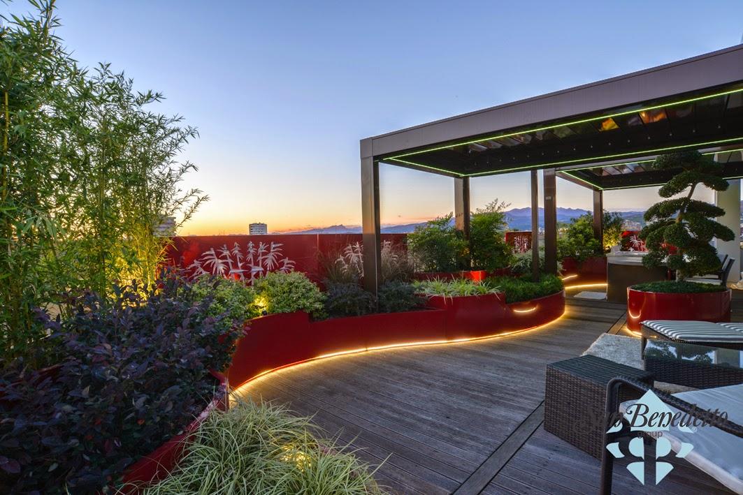 Awesome Giardini Sul Terrazzo Contemporary - Design Trends 2017 ...