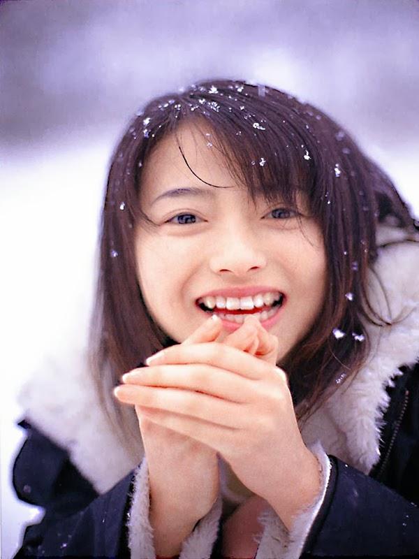 Azumi Kawashima In Winter
