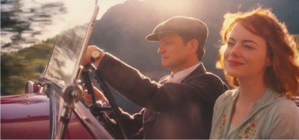 Emma Stone e Colin Firth no trailer de Magic in the Moonlight, de Woody Allen