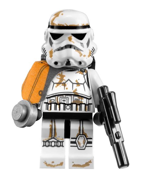 Incroyable figurine de sandtrooper