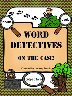 http://www.teacherspayteachers.com/Product/Nouns-Verbs-Adjectives-Word-Detectives-On-the-Case-1013347