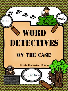 http://www.teacherspayteachers.com/Product/Nouns-Verbs-Adjectives-Word-Detectives-On-the-Case-1013347
