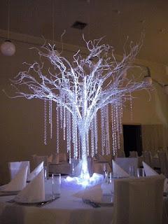 kryształowe drzewo