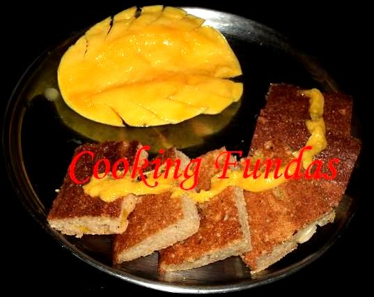 Cooking fundas august 2011 when the pitha comes to normal temperature take it out carefully and cut it into desired shapes serve like this or with milk and ripe mango pieces dalma altavistaventures Gallery