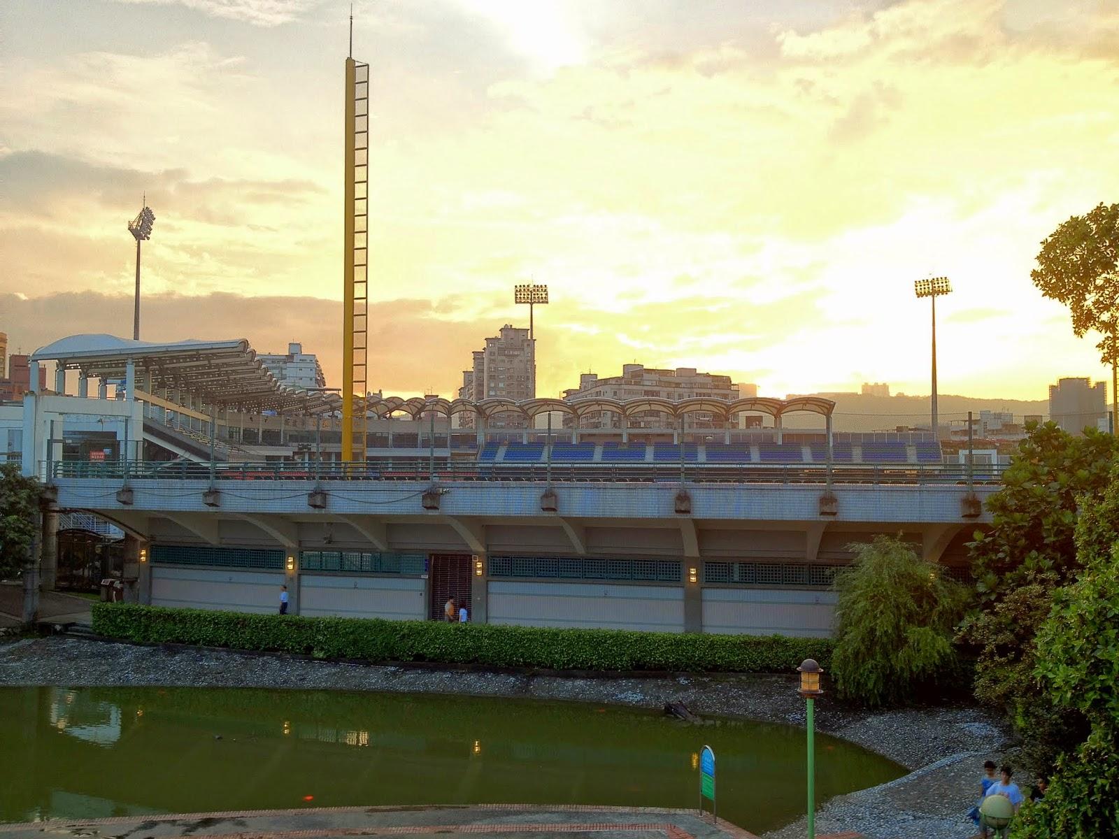 Chaos and Kanji: Xinzhuang Stadium/Hsinchuang Stadium, Taipei