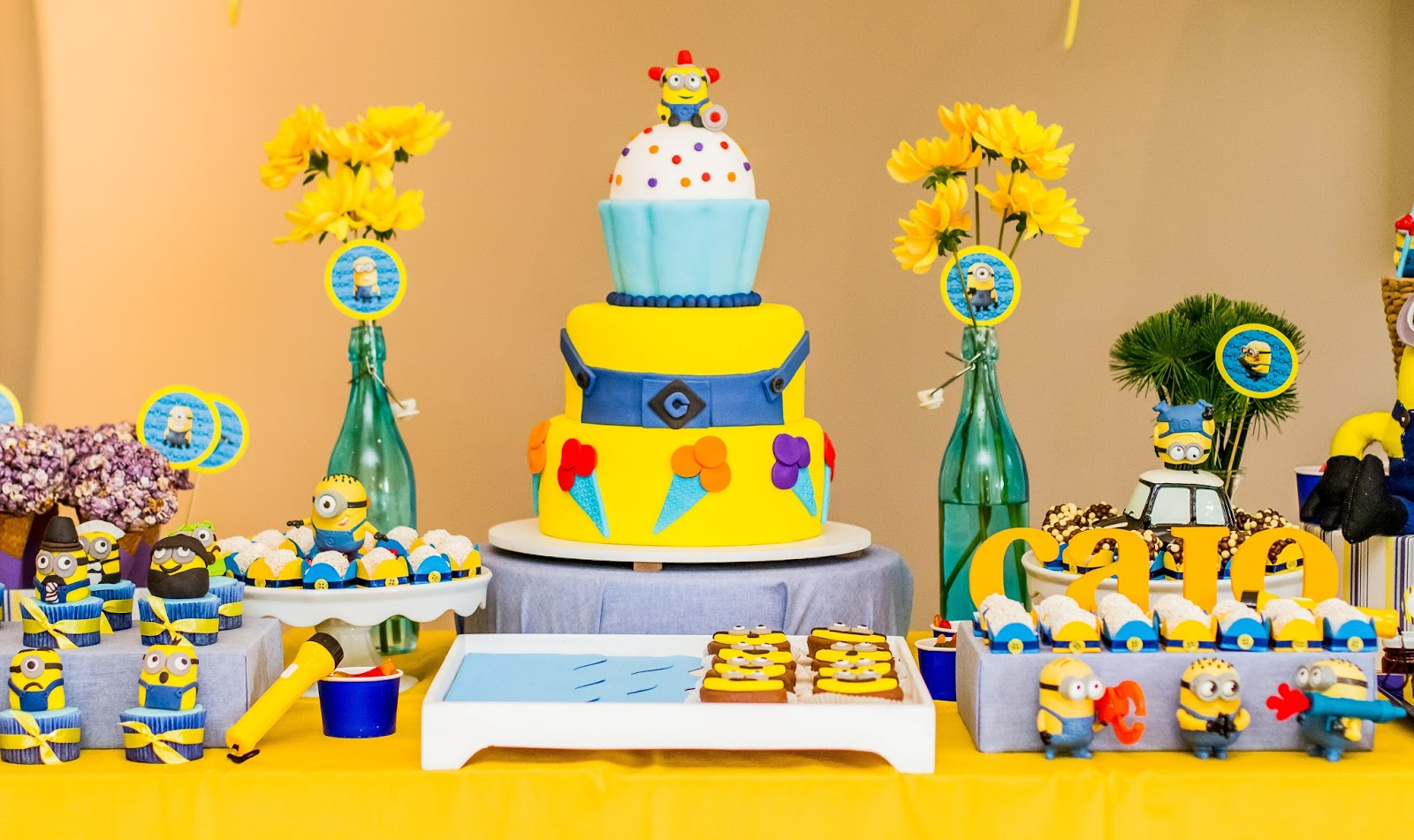 decoracao festa minions : decoracao festa minions:Divina Festivitá: Festa Minions – Meu Malvado Favorito
