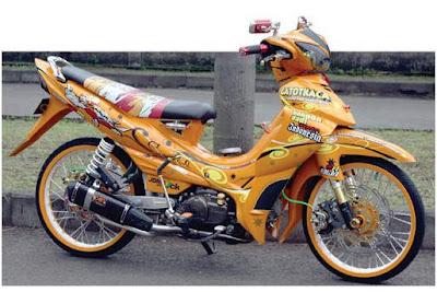 Gambar Modifikasi Motor Yamaha Soul