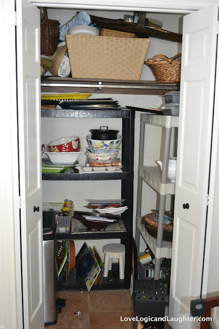 Our New Butler S Pantry Our Coffee Bar Turn A Closet