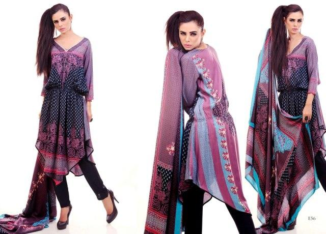 Eiza by UA Textile linen look book Winter collection 2012 for women