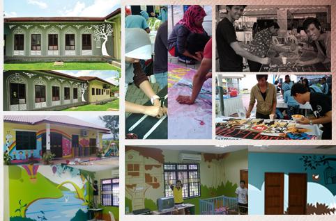 Lagi lagilogo sepintas lalu sorotan 2012 for Mural untuk taska