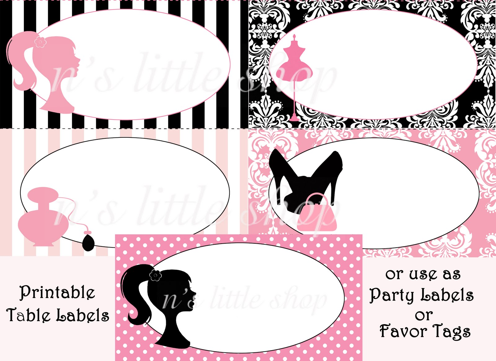 Fashion Party Invitations Gallery - Party Invitations Ideas