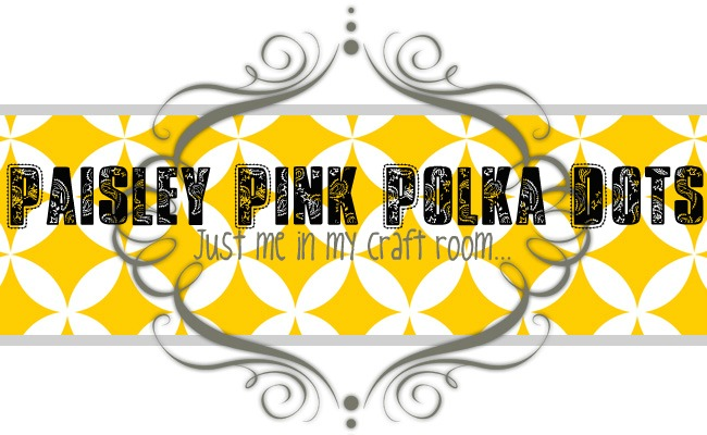 Paisley Pink Polka Dots