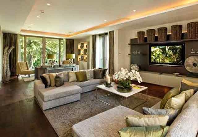 Ruang keluarga minimalis 2