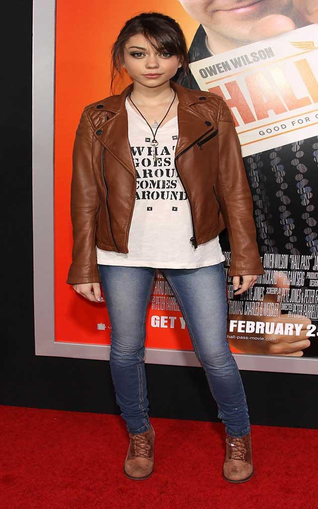 Fashionjewellery Sarah Hyland Leather Jacket