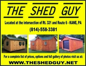 The Shed Guy, Kane, PA