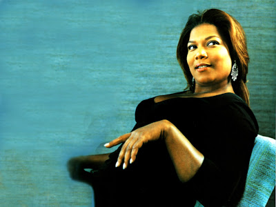 American Black Beauty Queen Latifah Wallpaper