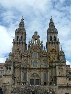 Church of Santiago, Santiago de Compostela, Galicia, Spain. By Vasco Roxo