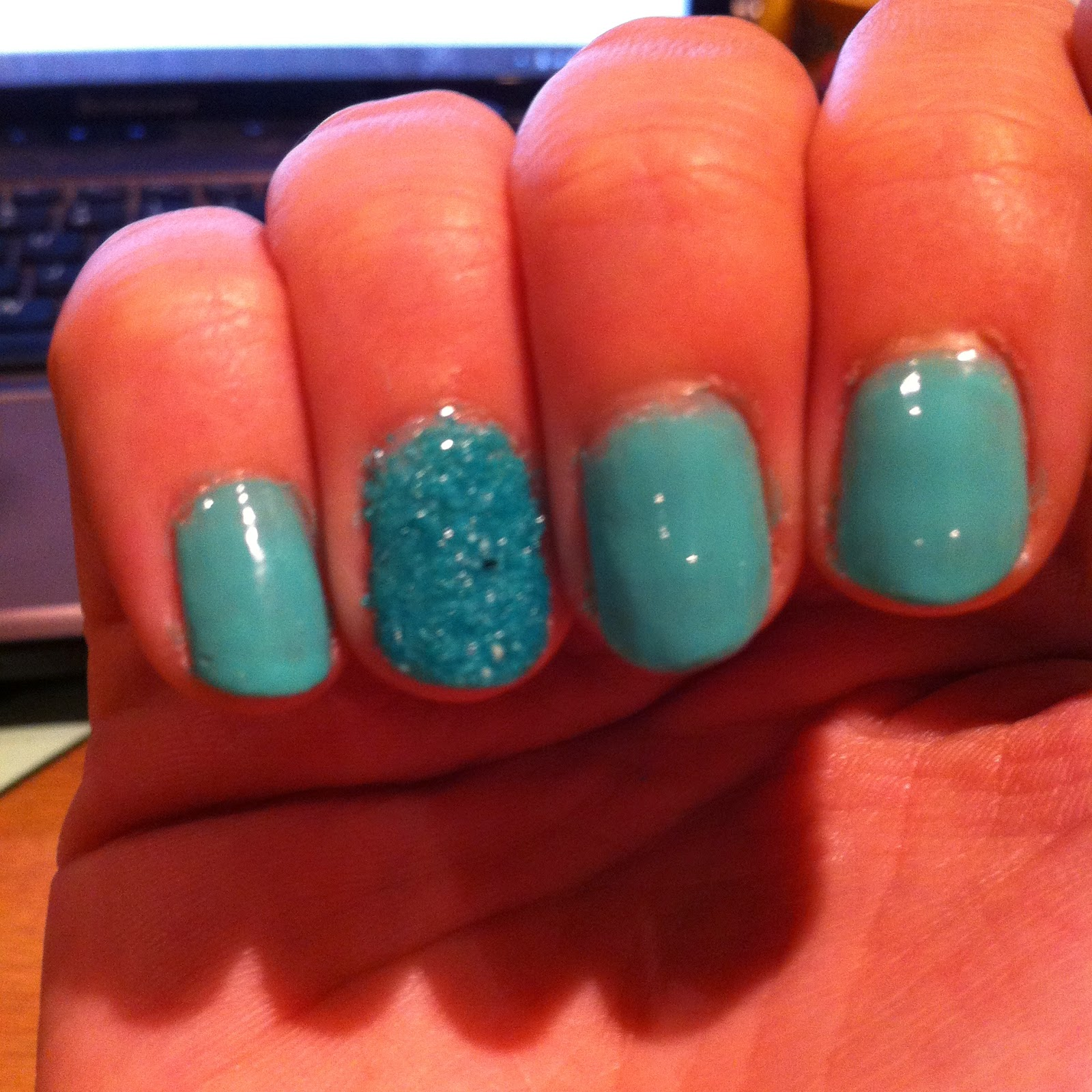 Pretty Nail Polish Poundland Review Sugar Glaze