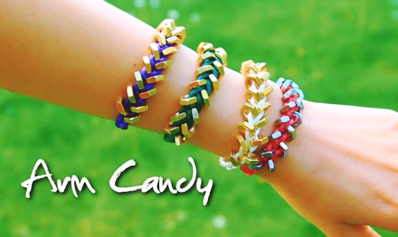 Arm Candy Hardware Bracelet Tutorial