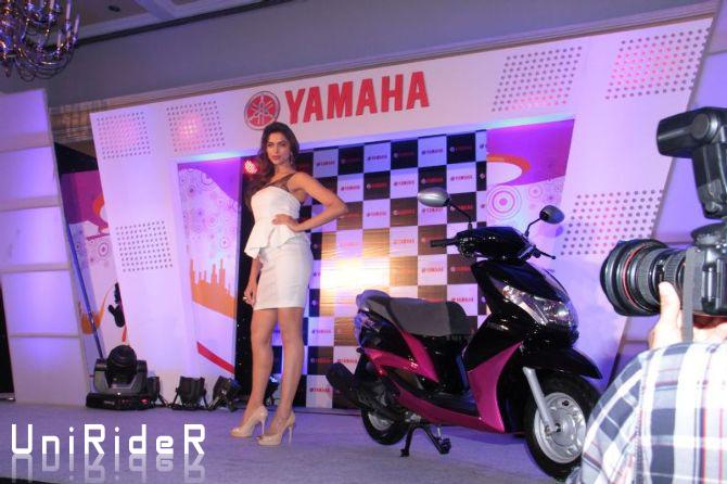 Deepika Padukone Photoshoot For Yamaha Ray