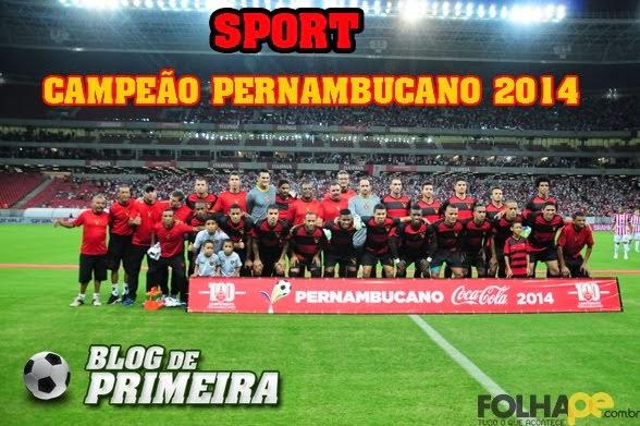 Sport é campeão pernambucano!