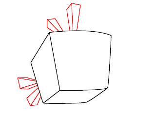 How To Draw Angry Birds Space Step 2