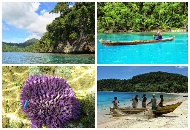 Kepulauan Gebe yaitu salah satu Objek Wisata di Kabupaten  Kepulauan Gebe - Pesona Wisata Halmahera Tengah