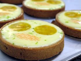 Tartes citron mangue - Pâtisserie Sébastien Dégardin