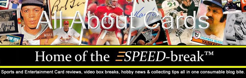 All About Cards - Sports Card Reviews, Box Breaks, Checklists and News