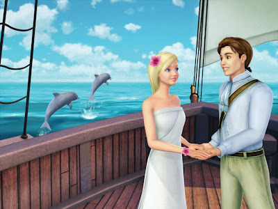 Barbie as Island girl Rosella - Ro and Prince Antonio