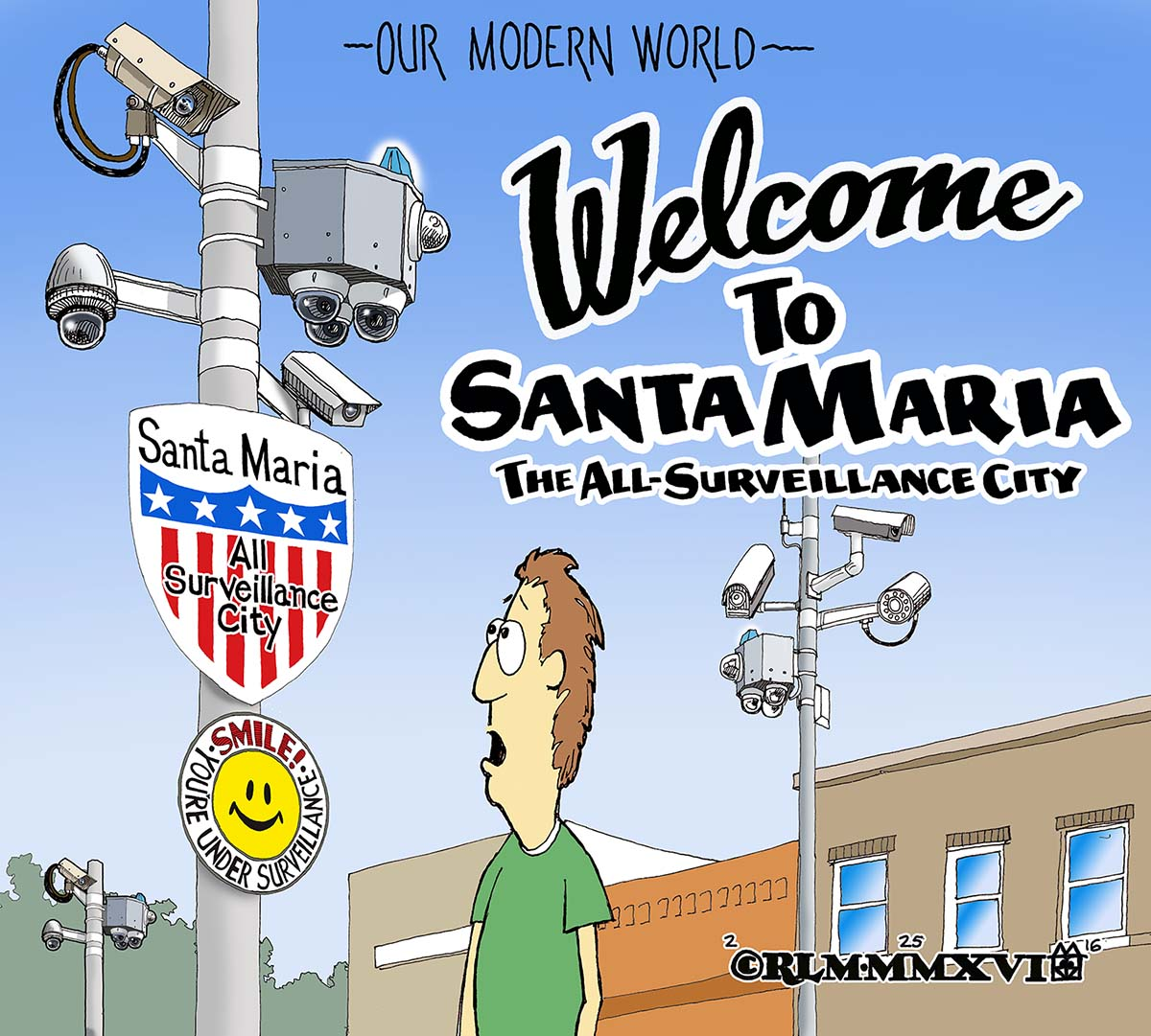 CITY OF SURVEILLANCE