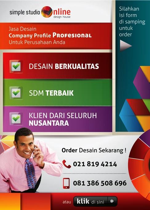 Jasa Desain Company Profile Perusahaan