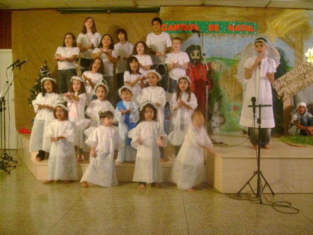 Cantata de natal infantil no ano de 2009