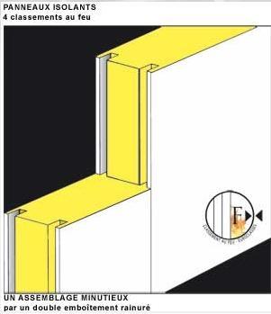 L isolation des chambres froides les caract ristiques genie en froid et climatisation - Chambre froide isolation ...