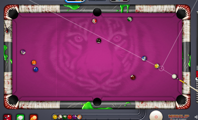Cheat Line Garis 8 Ball Pool Facebook