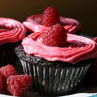 Cupcake met zomerfruit