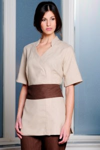 The rebel sweetheart stylish and chic salon work uniforms for Spa uniform nz