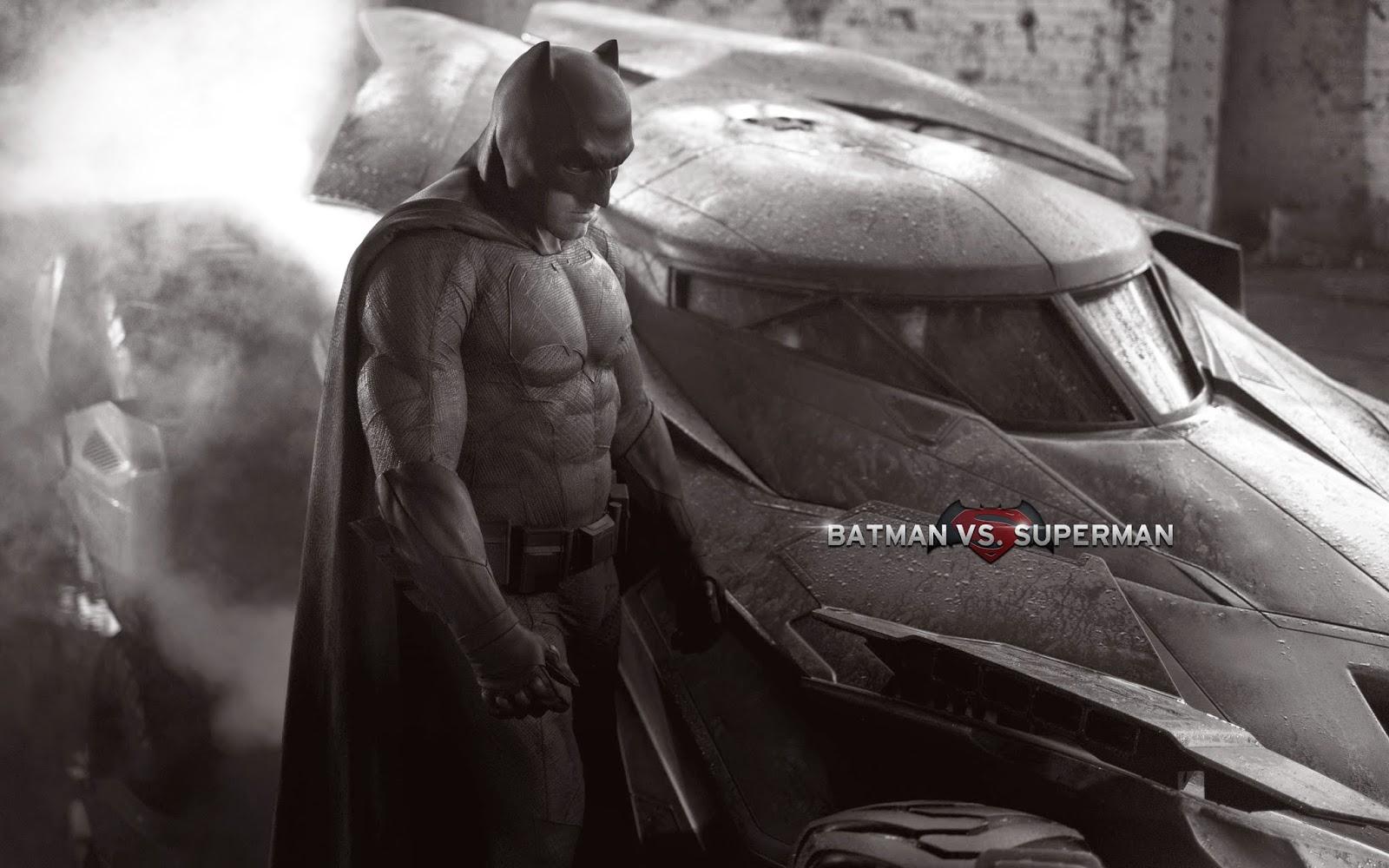 Batman In Batman V Superman Wallpaper