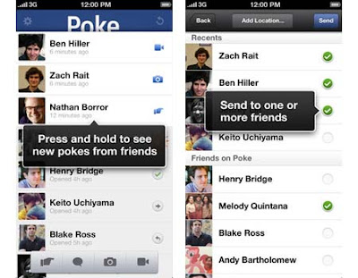 facebook poke application, download facebook poke, fb poke from itunes
