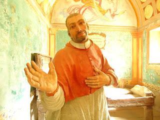 Em meu coração só há lugar para alegria e entusiasmo. Carlos Borromeo