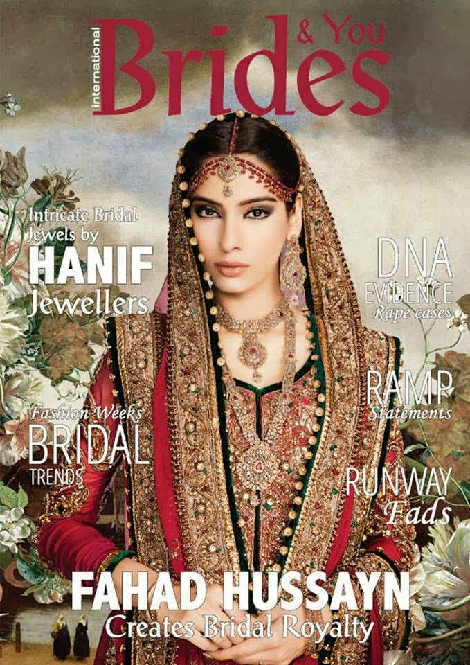 Fahad Hussayn Creates Bridal Suits