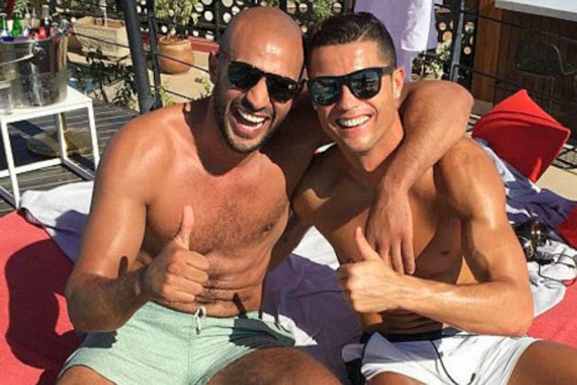 Cristiano Ronaldo Allegedly In A Gay Relationship With Moroccan Kickboxer