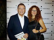 Con Roberto Verino